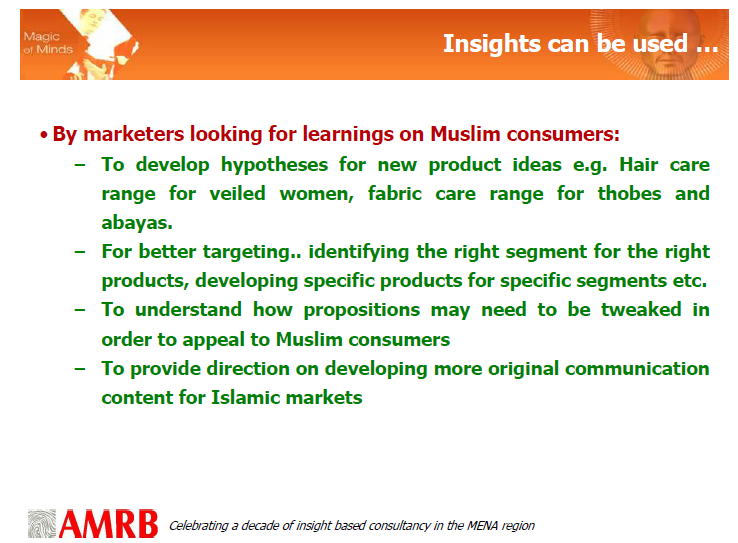 AMRB Islamic world insights