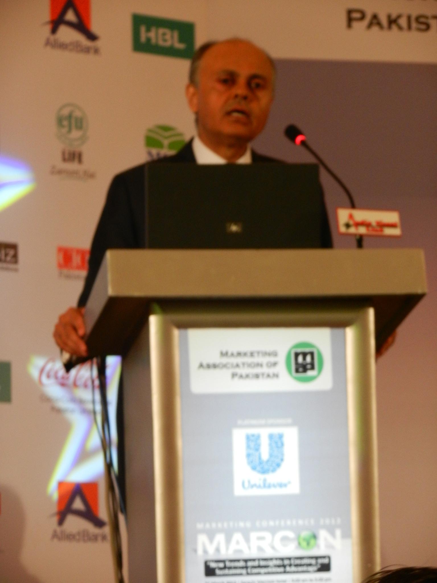 Ehsan Malik Unilever at Marcon