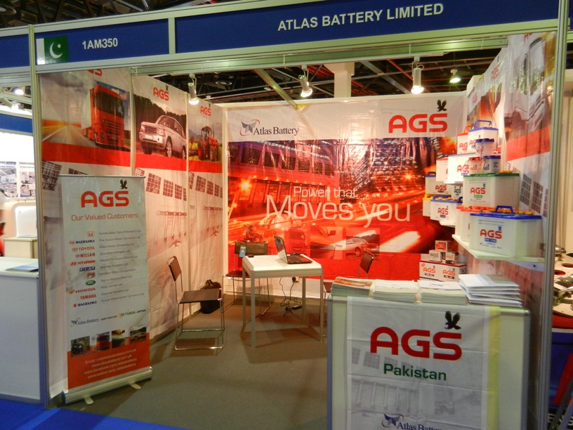Atlas Battery at Automechanika