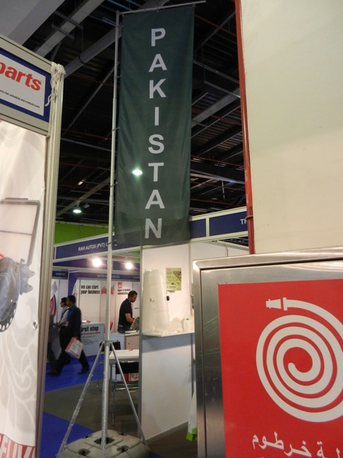 Pakistan Pavilion at Automechanika