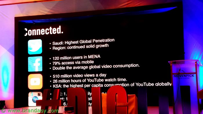 Digit '16 -Social media arab world