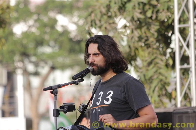 Ali Noor at Pakwheels Auto Festival Lahore