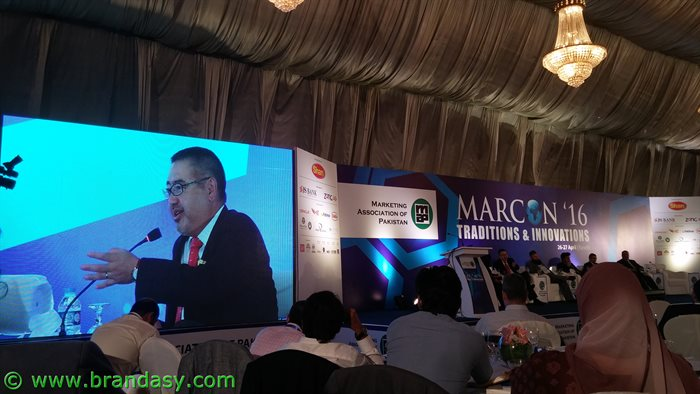 Marcon- Kimihide Ando, CEO for Pakistan & Senior Vice President, Mitsubishi Corporation