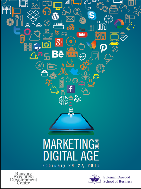 Marketing in the Digital Age-Workshop by LUMS
