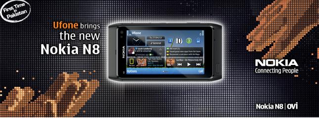 Ufone Nokia N8-banner