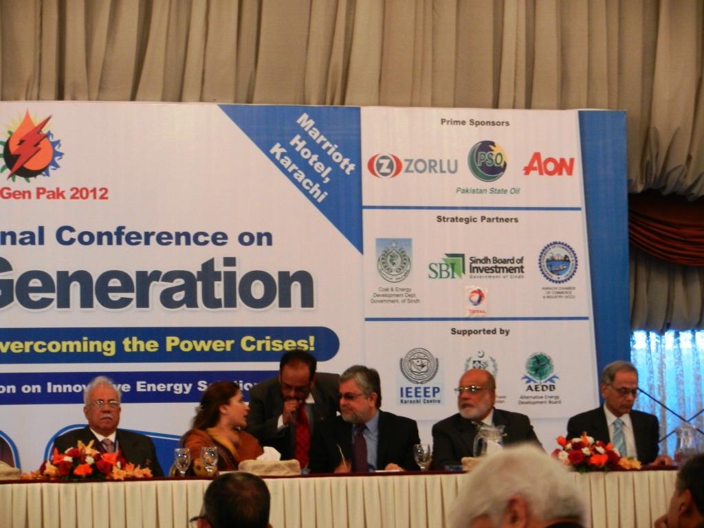 Powergen Pak Conference 2012