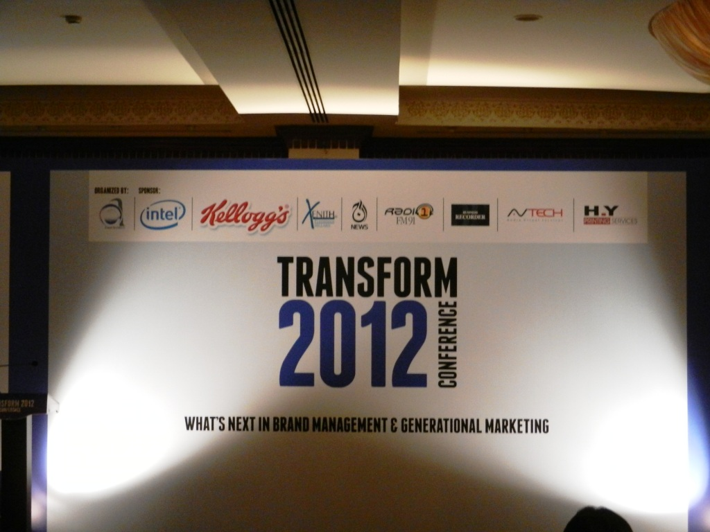 Transform 2012 Marketing Conference