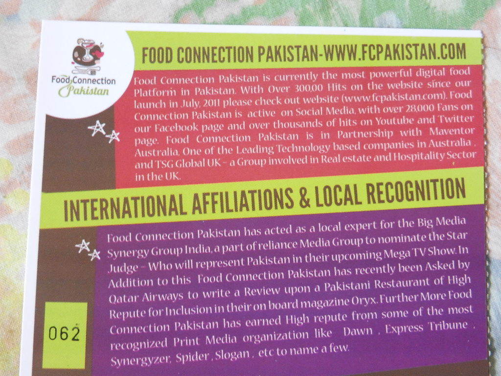Food Connection Pakistan