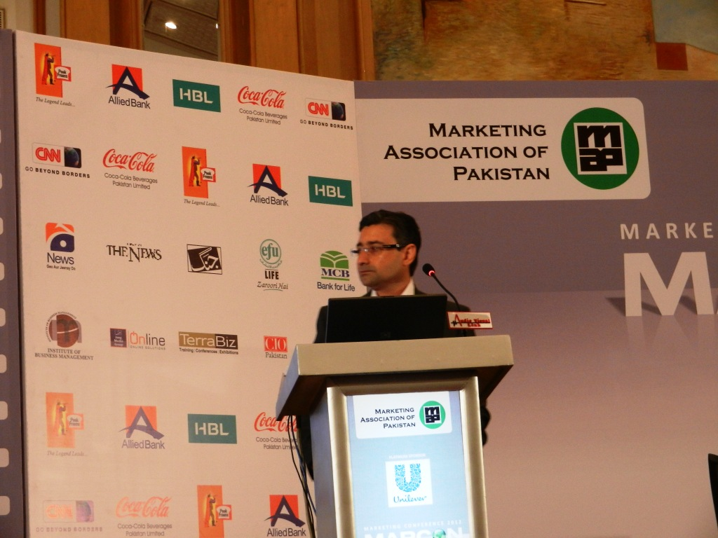 amir paracha - vp marketing unilever
