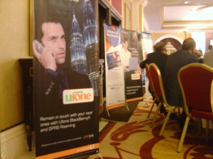 Ufone and other platinum sponsors of entrepreneurship 09