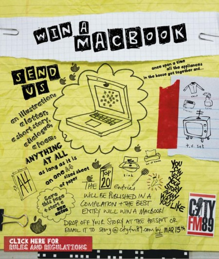 Win a Macbook on CityFM89