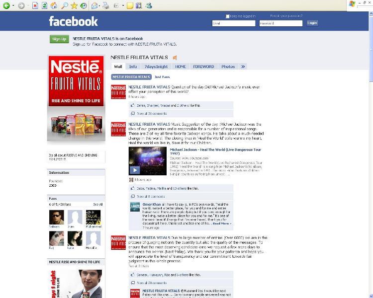 nestle fruita vitals-facebook