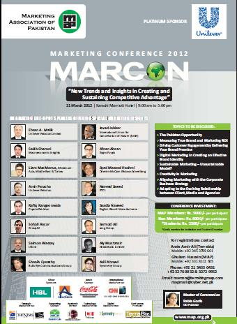 Marcon 2012 marketing conference